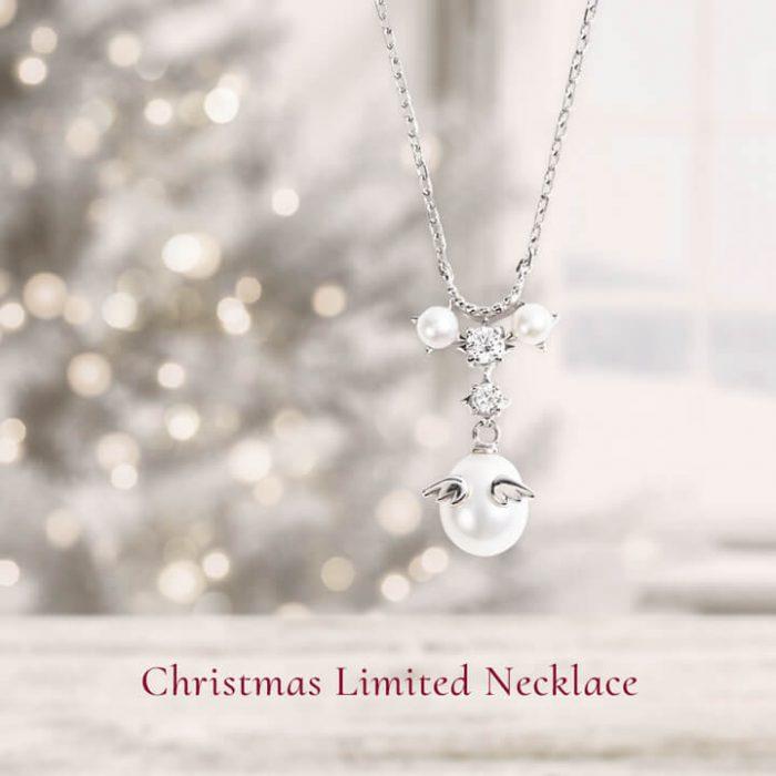 クリスマス2020限定天使の卵ネックレス